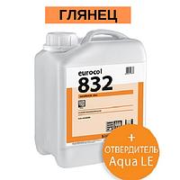 Forbo Eurocol 832 2-К дисперсионный полиуретановый лак для паркета / 4,6 л