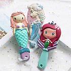 Набор детских аксессуаров заколки и расческа для девочек младшего возраста Эльза, фото 7