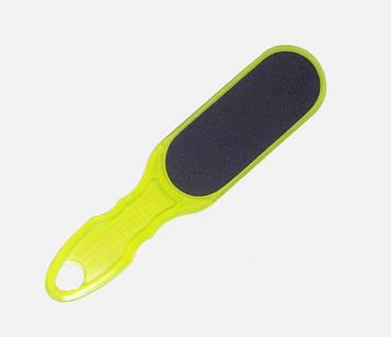 Тёрка пластиковая для стоп салатовая, 100/180 Сталекс Т-01 (10/1-AC)