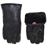 """Перчатки мужские кожаные Image на двойном плюше  (9.5-11.5)'Hends"""" купить недорого от прямого поставщика"""