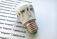 """Светодиодная лампа  6 LED модулей, мощность 3W, цоколь Е27, 220В, форма """"груша"""", холодный белый  , фото 1"""