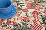 Раннер гобеленовий з люрексом Новорічний Іспанія Villa Grazia Premium Новорічна феєрія 40x100 см, фото 3
