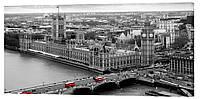Картина на холсте Декор Карпаты Лондон 50х100 см (G1033)