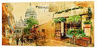 Картина на холсте Декор Карпаты Город 50х100 см (g512)