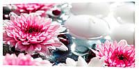 Картина на холсте Декор Карпаты Цветы 50х100 см (e155)