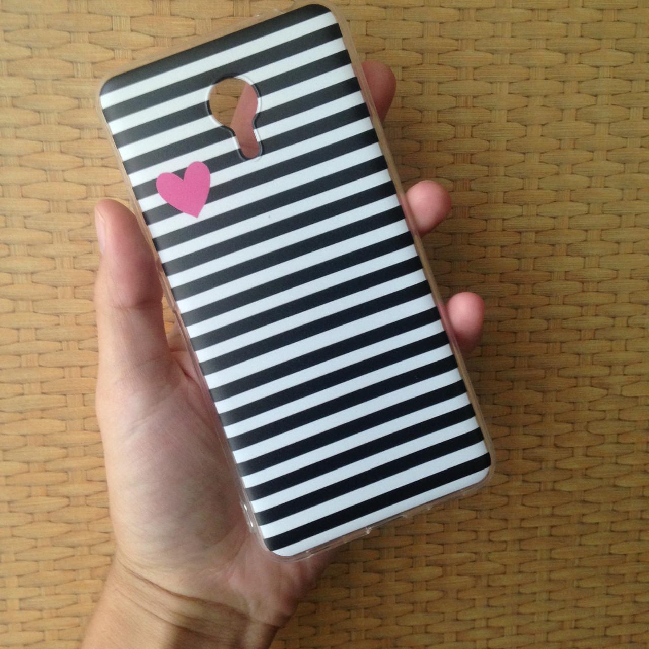 Чехол для Meizu M3 Note, бампер, накладка, чохол, силиконовый, силіконовий