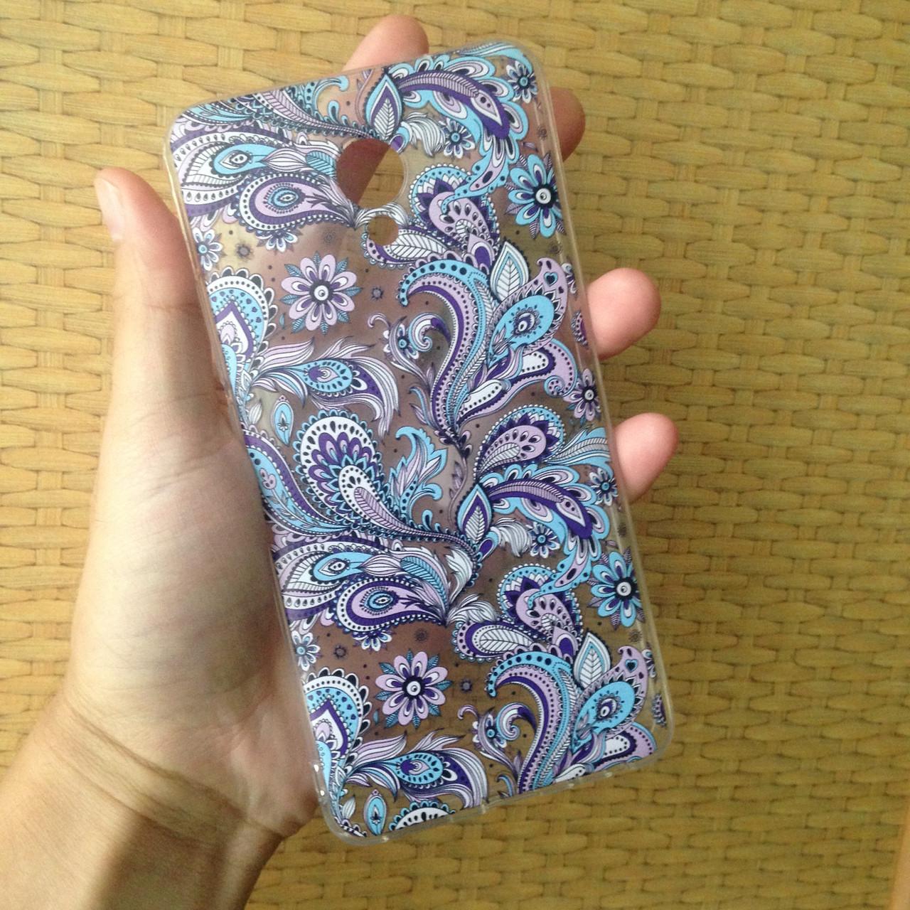 Чехол для Meizu M5 Note, бампер, накладка, чохол, силиконовый, силіконовий