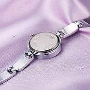 Женские часы Lupai серебряные с черным, жіночий годинник, наручные часы на браслете, фото 3