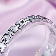 Женские часы Lupai серебряные с черным, жіночий годинник, наручные часы на браслете, фото 4