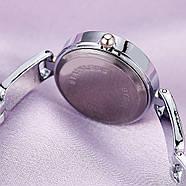 Женские часы Lupai серебряные с черным, жіночий годинник, наручные часы на браслете, фото 5