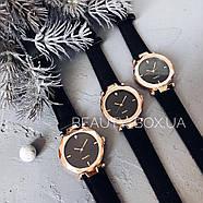 Женские часы Geneva Shine black черные, жіночий наручний годинник, женские наручные часы на батарейке, фото 3