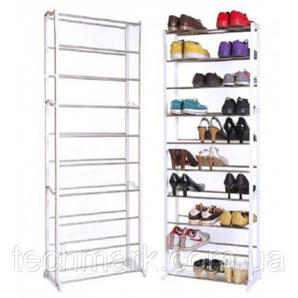 Полка для обуви, органайзер, стеллаж Amazing Shoe Rack