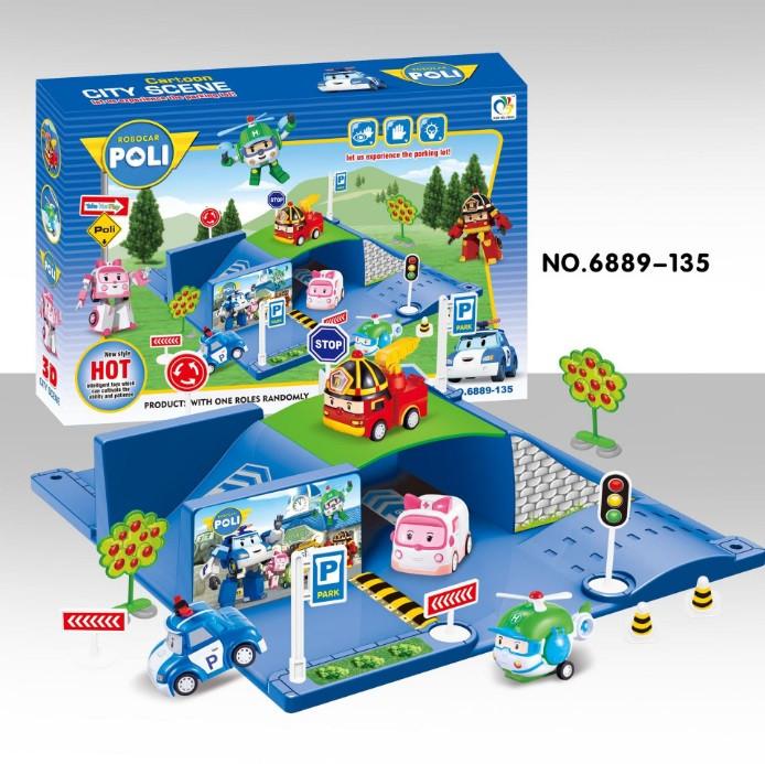 Игровой набор Poli Robocar
