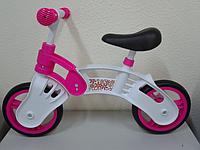 "Беговел 10"" SMALL RIDER  бело-розовый   2014."