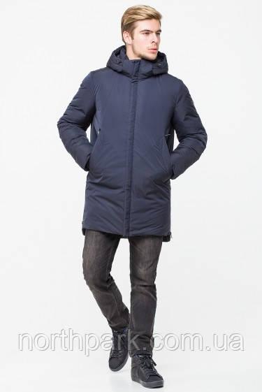 Подовжена зимова чоловіча куртка-парка KTL