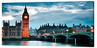 Картина на холсте Декор Карпаты Города 50х100 см (g186)