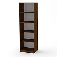 Шкаф книжный КШ-1 орех экко (61х45х195 см)