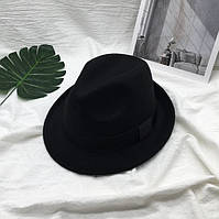 Шляпа унисекс Челентанка черная