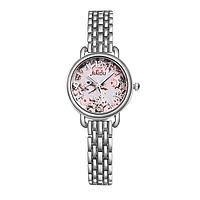 Женские наручные часы с цветочным принтом код 503