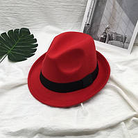 Шляпа унисекс Челентанка красная