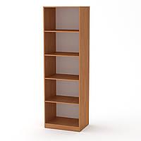 Шкаф книжный КШ-1 ольха (61х45х195 см)