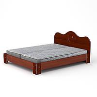 Кровать с матрасом 170 МДФ яблоня