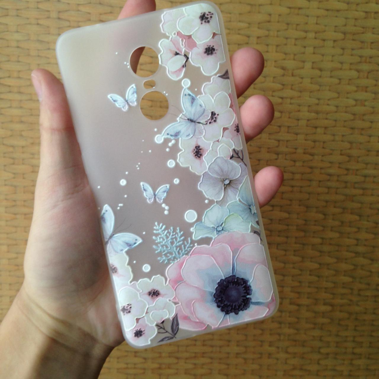 Чехол для Xiaomi Redmi Note 4X, бампер, накладка, чохол, силиконовый, силіконовий