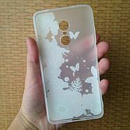 Чехол для Xiaomi Redmi Note 4X, бампер, накладка, чохол, силиконовый, силіконовий, фото 2