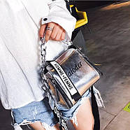 Женская сумка голограммная через плечо, Жіноча сумочка голограмма, Женский клатч, фото 4