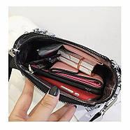 Женская сумка голограммная через плечо, Жіноча сумочка голограмма, Женский клатч, фото 6