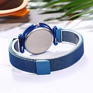 Женские часы на магнитной застежке Starry Sky синие, жіночий годинник,часы Звездное небо на магните, фото 3