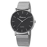 Женские часы Geneva Classic steel watch серебро, жіночий наручний годинник, наручные кварцевые часы Женева, фото 2