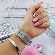 Женские часы Geneva Classic steel watch серебряные, жіночий наручний годинник, наручные кварцевые часы Женева, фото 3