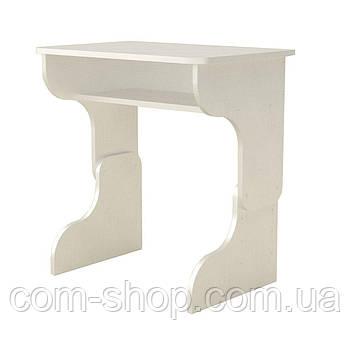 Стол письменный малыш белый  (66х43х51 см)