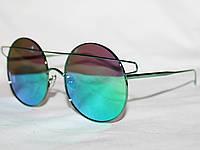 Очки в стиле Louis Vuitton S30049 зеленый зеркальные 19915