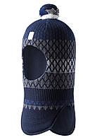 Зимняя шапка - шлем для мальчика Reima Valittu 518532R-6981. Размеры 46 - 54., фото 1