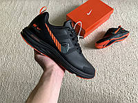 Мужские демисезонные кожаные кроссовки Nike Zoom Pegasus +V30