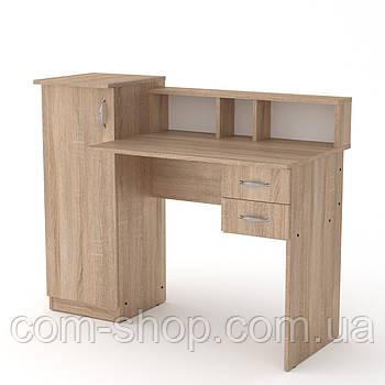 Стол письменный пи пи-1 дуб сонома  (118х55х96 см)