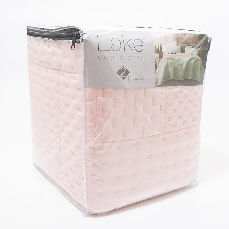 Покрывало Италия Centrotex Lake Cube Quilt 260×260 см (LakeCube-Quilt-rosa)