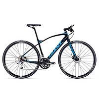 Городской велосипед Giant FastRoad SLR 1 черный M/L (GT)