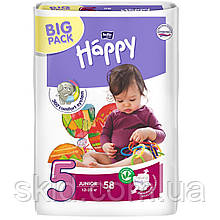 Підгузки Bella Happy Junior №5 (12-25 кг) 58 шт