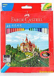 Набор цветных карандашей, 48 цветов, Faber-Castell