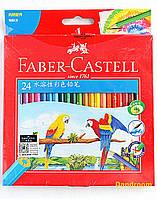 Набор акварельных карандашей, 24 цвета, Faber-Castell