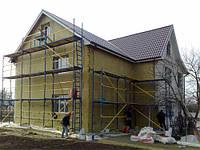Утепление домов минеральной ватой 50 мм