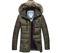 Мужская куртка пуховик, разные цвета  МК-204-О, фото 1