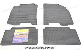 Резиновые коврики в салон Daewoo Gentra 2013- ЗРТИ Харьков