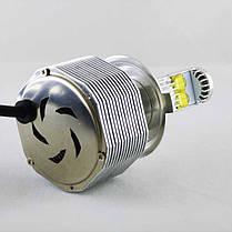 Комплект светодиодных ламп в основные фонари SLP LED под цоколь Н4 60W 3700 Люмен лампа, фото 2