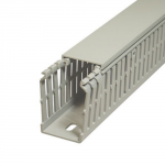Перфорований кабельний канал BA7A, 80x60, сірий RAL 7030 _Hager-SALE