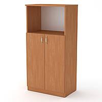 Шкаф книжный КШ-15 ольха  (61х37х120 см)