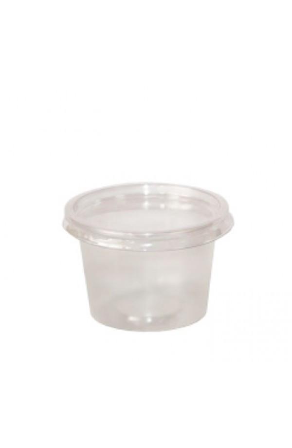 Крышка для соусника одноразового PET, прозрачная (Для соусника 011904 и 011903) 100 шт.